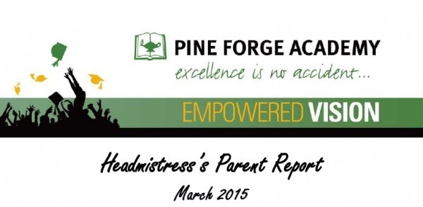 Headmistress Parent Report – March 2015