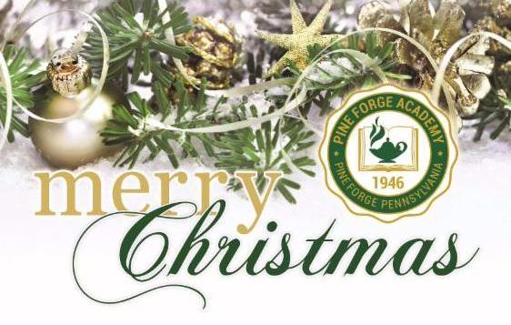 Merry Christmas from Pine Forge Academy