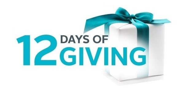12 Days of Giving: Days 1 through 12