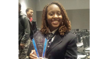 PFA Student Places Second in Oratorical Contest