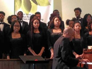 Choir at Second Baptist Church of Pottstown- Pottstown, PA