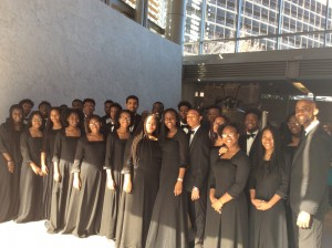 Choir at the Liberty Bell 32nd Annual Bell Ringing Ceremony- Philadelphia, PA