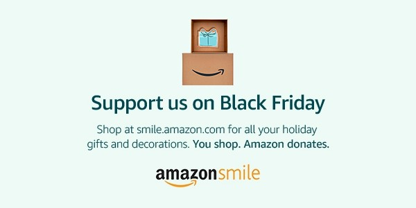 This BLACK FRIDAY: Support PFA through AmazonSmile!