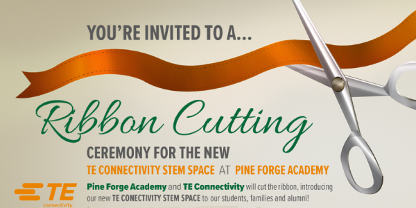 YOU'RE INVITED! Join us for the NEW STEM Space Ribbon Cutting!
