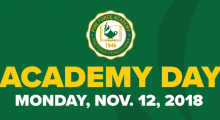Academy Day Registration Now Open!