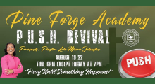 Back-to-School Revival with Pastor Lola Moore-Johnston