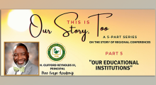 """This is Our Story Too – Part 5 """"Our Educational Institutions"""""""