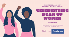 Celebrating PFA Dean of Women Past and Present