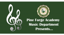 Pine Forge Academy Music Department Presents…
