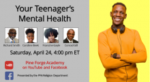 Your Teenager's Mental Health – Presented by Religion Dept.